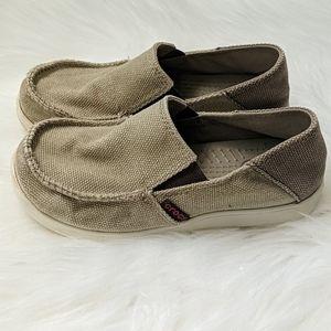 Crocs - Canvas slip-ons - Junior Size 1